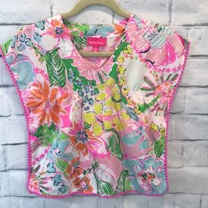 Lily Pulitzer for Target Cover Up Dress Sz 4t